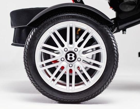 Трехколесный велосипед Bentley BN2R 2019 красный цвет (трансформер)