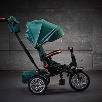 Трехколесный велосипед Bentley BN2G 2019 изумрудный цвет (трансформер)